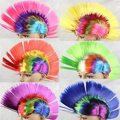 Gotta love the MOHAWK Costume Wig only when you shop at www.capriallen ...