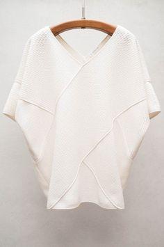 10 Crosby Derek Lam - Cross Front Shirt - $495