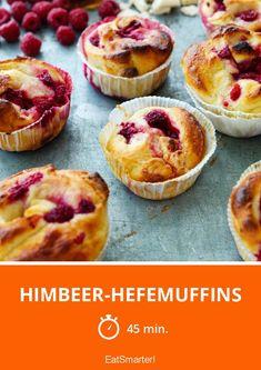 Himbeer-Hefemuffins - smarter - Zeit: 45 Min.   eatsmarter.de