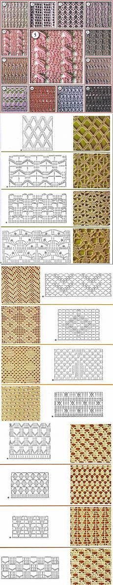 Схемы: ажурные рисунки | Записи в рубрике Схемы: ажурные рисунки | Дневник Irina_Horn