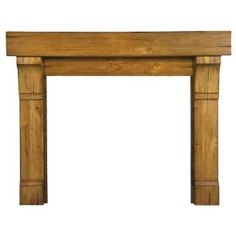 """Check out the Pearl Mantels 196-48-60 Cumberland 48"""" Wood Fireplace Mantel in Natural Distressed priced at $973.00 at Homeclick.com."""