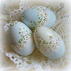 Пасхальные яйца - идеи из интернета
