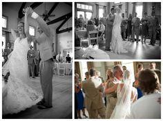 Blue, orange and green wedding inspiration, photography by UP STUDIOS, via Aphrodite's Wedding Blog