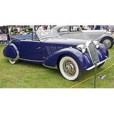 1938 Talbot-Lago T23 Cabriolet by Figoni et Falaschi