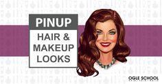 pin-up-hair-makeup-looks