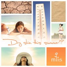 Hot weather, salt water, and chlorine can leave skin feeling dry and flaky. Maximize your moisturizing routine with M'lis HYDRATE, containing hylauronic acid, which can absorb 1000x its weight in moisture when applied to skin! In addition to M'lis HYDRATE, quench skin throughout the day by misting with M'lis TONE! https://www.facebook.com/mliscompany