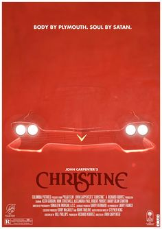 """RECOMMENDED! """"Christine"""" (1983) 