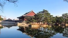 Gyeonghoeru Pavilion, located inside Gyeongbokgung Palace. This is an important spot in the novel, mentioned several times, on pages 229, 231....