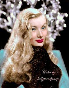 The Veronicas, Look Vintage, Vintage Glamour, Vintage Beauty, Old Hollywood Glamour, Vintage Hollywood, Classic Hollywood, Vintage Versace, Vintage Dior