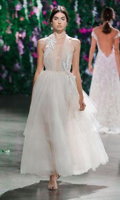8ce1e0290cea Best Wedding Dresses from the Fall 2018 Bridal Runways Galia Lahav
