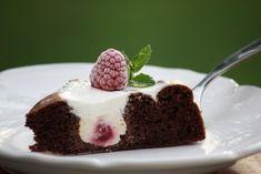 Kakaovo - tvarohový koláčik bez múky - recept Desert Recipes, Sweet Recipes, Sweet Tooth, Cheesecake, Deserts, Sweet Life, Food And Drink, Low Carb, Yummy Food