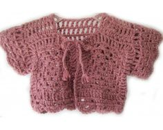 KSS Pink Colored Granny Sweater/Jacket (18 - 24 Months)