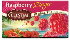 Our Red Zinger Herbal Tea is the original Celestial Seasonings herb tea that first won hearts over 20 years ago. Shop for herbal tea here. Raspberry Zinger Tea, Herbal Tea Benefits, Herbal Teas, Celestial Seasonings Tea, Savarin, Sweet Tarts, My Tea, Tea Recipes, Healthy Recipes