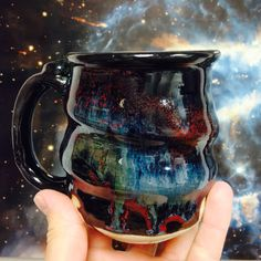 Three Chances to Win Free Cosmic Mugs $300 Value ($85 each + $15 packing and shipping) Cosmic Mugs are durable, non-toxic, dishwasher safe, one-of-a-kind pieces of handmade artwork. All emails are kept 100% confidential by Cherrico Pottery, LLC.
