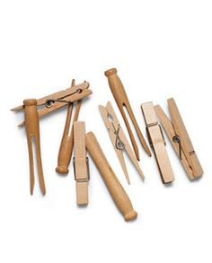 In this Crazy Life: Tips and Tricks - When starting to hammer a nail, use a clothespin to hold the nail and save your fingers from pain.