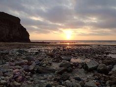 Porthtowan Beach, Cornwall, UK