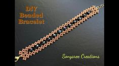 Simple and Easy Beaded Bracelet