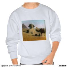 Egyptian Sweatshirt #Egypt #Egyptian #Africa #Pyramid #Camel #Desert #Fashion #Tee #TShirt #Shirt #SweatShirt