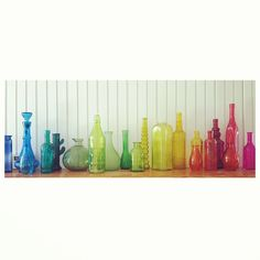 colorful glass bottles | Colorful Glass Bottles My colored glass bottle