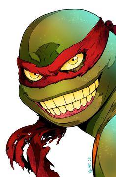 Teenage Mutant Ninja Turtles - Raphael by Felipe Smith