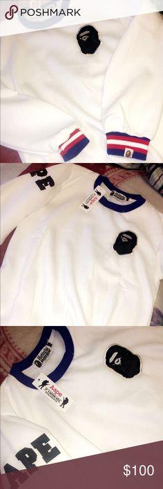 Bape long sleeve Brand new come with tags and bag(SOLD) Bape Shirts Tees - Long Sleeve