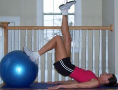Pull Workout: One-Leg Hip Raises (Hamstrings/Glutes)