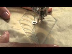 Free Machine Quilting Tip #3:  How To Fill a Tight Space With Free-Form Feathers. Click: http://www.craftsy.com/ext/Pin_BP3_20120904