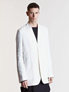 Thamanyah Men's Lapel-less Jacket