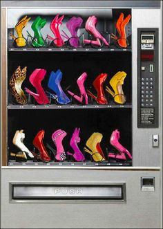 Designer Shoe Vending Machine