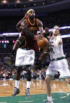 Nov 14, 2014; Boston, MA, USA; Cleveland Cavaliers forward LeBron James (23) shoots the ball against Boston Celtics center Kelly Olynyk (41) during the first half at TD Garden. Mandatory Credit: Mark L. Baer-USA TODAY Sports