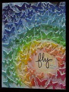 Liz Hicks Studios: Fly... Canvas