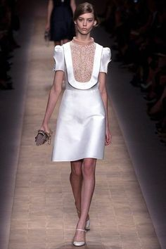 valentino, interesting cut;out element, sleeves