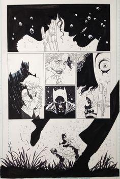 Batman, Flashpoint Issue 3 page 17 par Eduardo Risso, Brian Azzarello - Planche originale