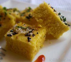 khaman dhokla chickpea flour savory cake