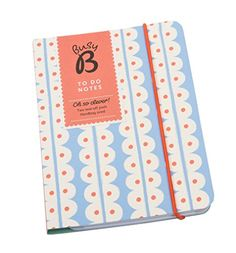 Busy B To Do Notebook - 2 tear-off pads, perfect for shopping lists and reminders BusyB http://www.amazon.co.uk/dp/B00RK19BWA/ref=cm_sw_r_pi_dp_0CTPvb0T4X5YR