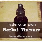 Make Your Own Herbal Vitamin and Mineral Tincture