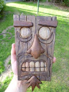 Aku Aku - Wooden Mask by Mental4Metal666