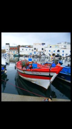 Skiff-Old port-Bizerte-Tunus