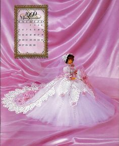 Bridal Dreams Collection 1999 Master Crochet Series Miss September Crochet Pattern Book Annie Potter