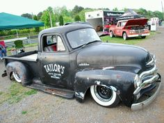 1954 Chevy rat rod truck. I wish I could have built my own.