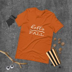 Fall Shirts, Mom Shirts, Shirt Shop, T Shirt, Mothers Day Shirts, Ash Color, Happy Fall, Halloween Shirt, Spun Cotton