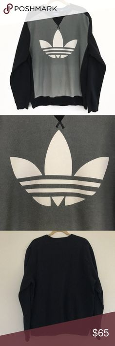 Adidas Trefoil Crewneck Size XL This is an adidas trefoil Crewneck In size XL. Iconic trefoil.   🔹pre loved gently used item in great condition  🔹Men's XL trefoil Crewneck  🔹nice colorway 🔹make me an offer!! I can't accept if you don't offer! adidas Sweaters Crewneck