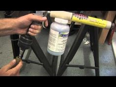 DIY Powder Coating - YouTube. Need to put this in the shed!!!