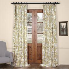 Alcott Hill® Ramblewood Semi-Opaque Curtain Panels