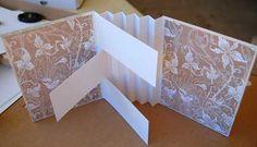 Flag Book Mini Album Tutorial | Make A Mini Scrapbook