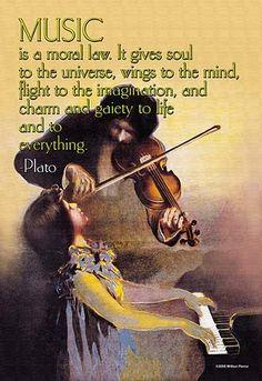 Amazon.com: Plato Music Inspirational Motivational Quote ...