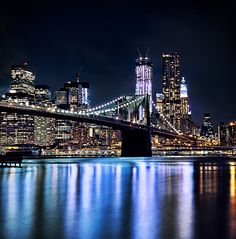 Beautiful New York City At Night Photos