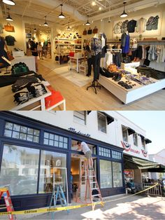 Madewell is a women's clothing store located in between Oscars and J Crew.  This store has jeans of all fits, sizes, and styles.  The main attraction within the store is the denim bar which displays the jeans and is where customer service can help you find your perfect match.