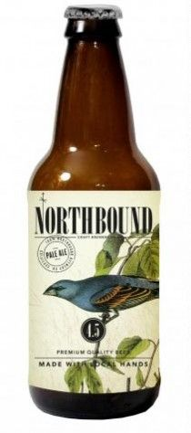 Northbound.