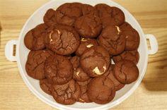 Double Chocolate cookies - Box of 12 - from www.theladybirdbakery.co.uk